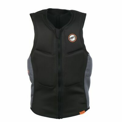 Prolimit Prallschutzweste Slider Vest FrontZip Black/Orange 2020 Gr. XS S M XL • 84.95€