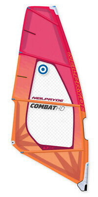 Neilpryde Windsurf Segel Combat HD C2 Red/Orange 2019 Wave Stabil Leicht • 604.30€