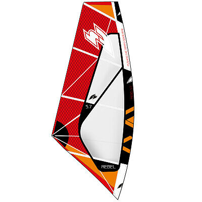 F2 Rebel Wave 2019 ~ Windsurf Segel Sail Rdm 5,0 Qm Inklusive Bag • 399€