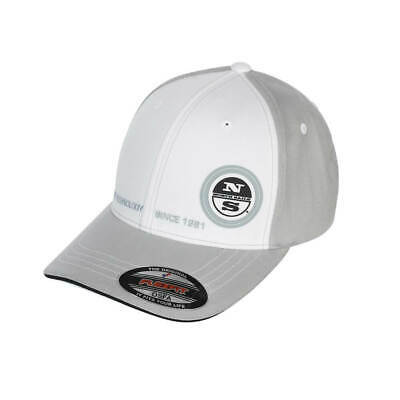 North Sails Baseball Cap White Grey Flexfit Trucker Mütze • 24.30€