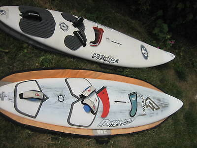 2 Boards - Fanatic New Wave 74 2010 Carbon Mit Finne & Bag + Handmade Wave M 85 • 195€