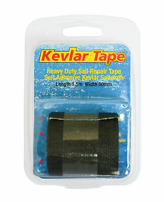 Yachticon Kevlar Tape Segel & Segeltuch Reparatur Band Klebeband 1,5m X 50mm • 29.90€