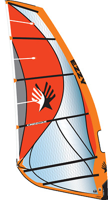 EZZY Sails Cheetah 6.5 Orange, Aktuelles Modell, 6 Latten Freeride • 795€