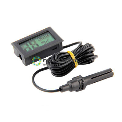 Mini Digital LCD Temperature Humidity Thermometer Outdoor Hygrometer Meter Probe • 1.70€