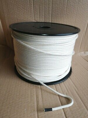 Windsurfing Downhaul/Outhaul Dyneema Rope 4 Mm- White- 10 Metres - FREE SHIPPING • 19€