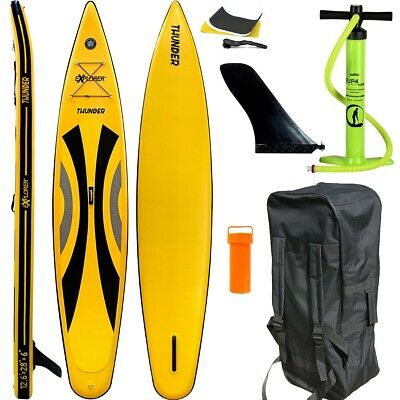 Sup Explorer 2020 Thunder 12.6 Race Stand Up Paddle Board Inflatable Pumpe Isup • 599€