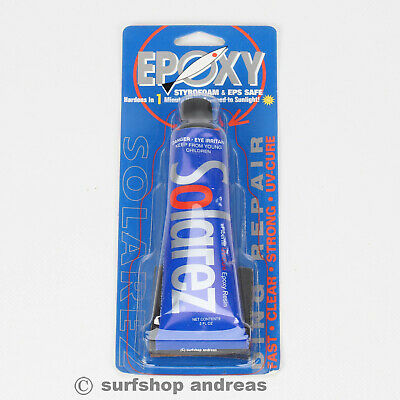 Solarez Epoxy Tube 56g Repair UV Licht Reparatur Windsurfboard  • 25.99€